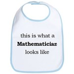 What a Mathematician Looks LIke Bib