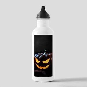 Halloween Pumpkin Jack Stainless Water Bottle 1.0L