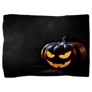 Halloween Pumpkin Jack-O-Lantern Spook Pillow Sham