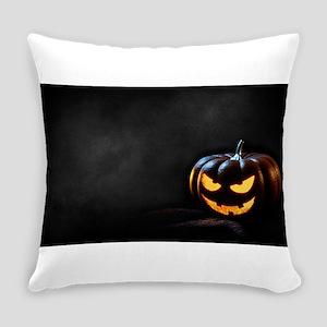 Halloween Pumpkin Jack-O-Lantern S Everyday Pillow