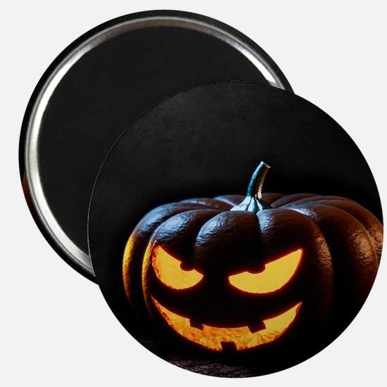 Halloween Pumpkin Jack-O-Lantern Spooky Magnets