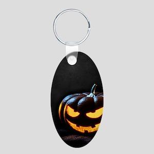 Halloween Pumpkin Jack-O-Lantern Spooky Keychains