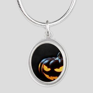 Halloween Pumpkin Jack-O-Lantern Spooky Necklaces