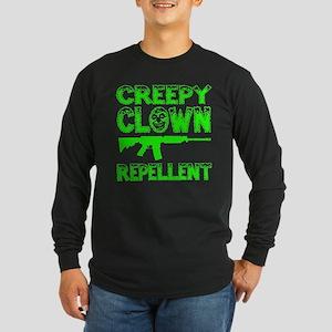 Funny - Creepy Clown Repellent Long Sleeve T-Shirt
