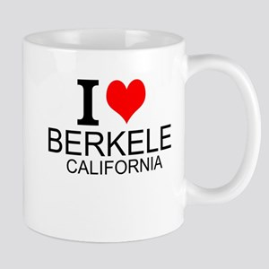 I Love Berkeley, California Mugs