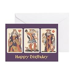 Playing Cards 1622 - Birthday Card