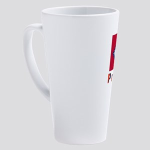 Arkansas 1 Merchandise 17 oz Latte Mug