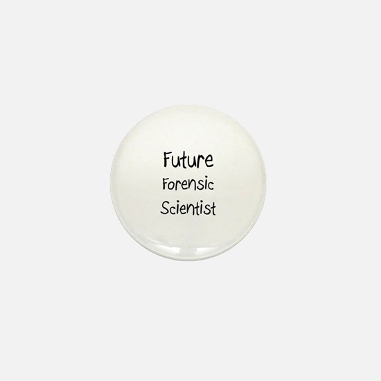 Future Forensic Scientist Mini Button
