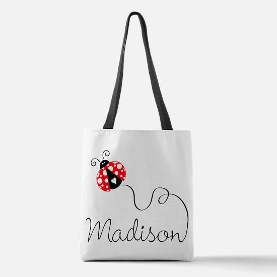 Ladybug Madison Polyester Tote Bag