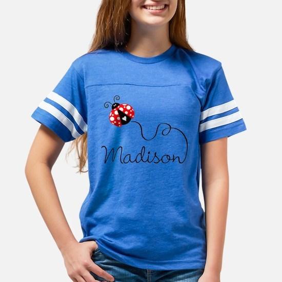 Ladybug Madison Youth Football Shirt T-Shirt