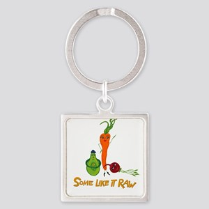 Some Like It Raw_Trio _10x10 Keychains