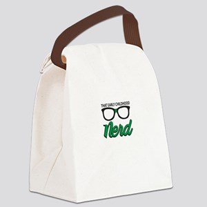TECN Canvas Lunch Bag