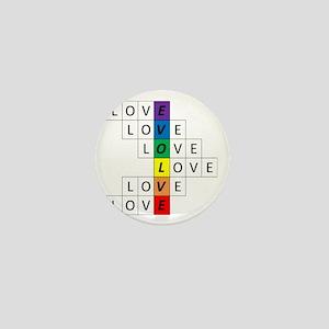 Love-Evolve Chakras WRH Mini Button