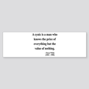 Oscar Wilde 1 Bumper Sticker