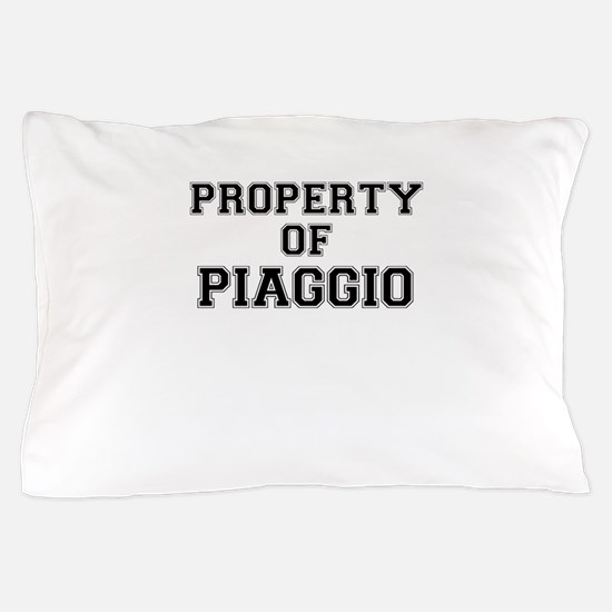Property of PIAGGIO Pillow Case