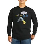 Look At Meeee Long Sleeve Dark T-Shirt