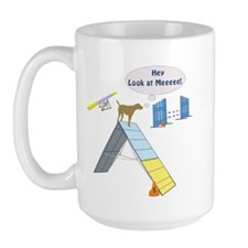 Look At Meeee Large Mug