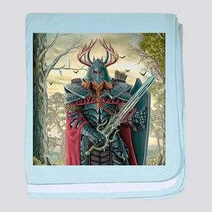 viking warrior baby blanket