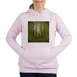 magical trail scene Women's Hooded Sweatshirt