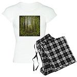 magical trail scene Women's Light Pajamas
