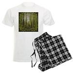 magical trail scene Men's Light Pajamas