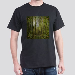 magical trail scene Dark T-Shirt