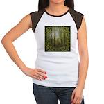 magical trail scene Junior's Cap Sleeve T-Shirt