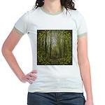 magical trail scene Jr. Ringer T-Shirt