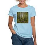 magical trail scene Women's Light T-Shirt