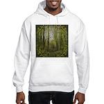 magical trail scene Hooded Sweatshirt