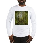 magical trail scene Long Sleeve T-Shirt