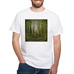 magical trail scene White T-Shirt