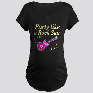 ROCK STAR Maternity Dark T-Shirt