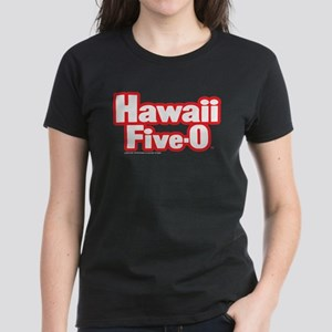 Hawaii Five-0 Logo Women's Dark T-Shirt