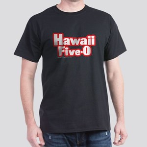 Hawaii Five-0 Logo Dark T-Shirt