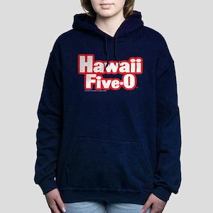 Hawaii Five-0 Logo Women's Hooded Sweatshirt