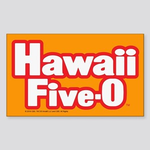 Hawaii Five-0 Logo Sticker (Rectangle)