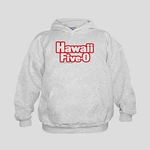 Hawaii Five-0 Logo Kids Hoodie