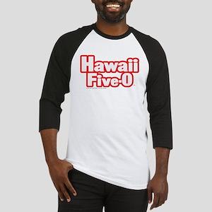Hawaii Five-0 Logo Baseball Jersey