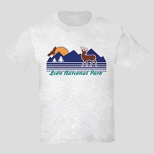 Zion National Park Kids Light T-Shirt