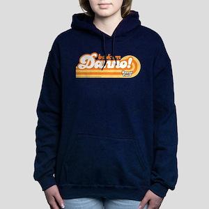 Book 'Em Danno! Women's Hooded Sweatshirt