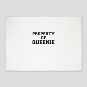 Property of QUEENIE 5'x7'Area Rug
