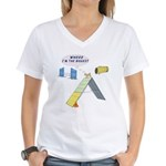 I'm Biggest Women's V-Neck T-Shirt