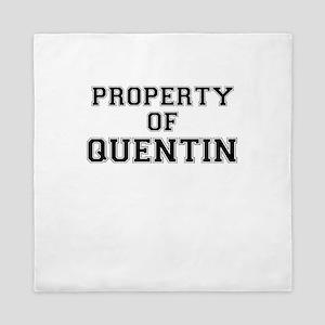 Property of QUENTIN Queen Duvet