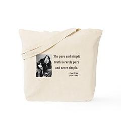 Oscar Wilde 4 Tote Bag