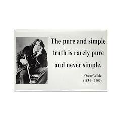 Oscar Wilde 4 Rectangle Magnet (10 pack)