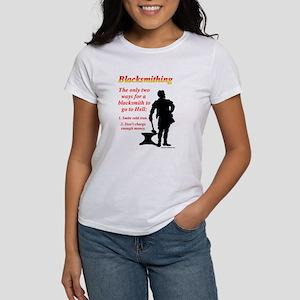 How Blacksmiths Go To Hell Women's T-Shirt