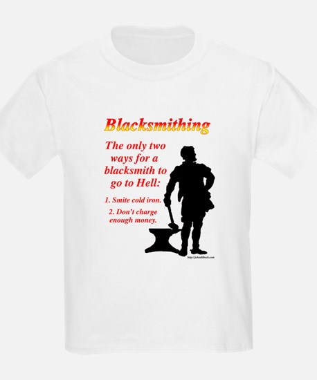 How Blacksmiths Go To Hell T-Shirt