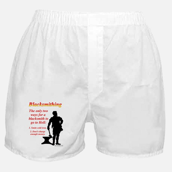 How Blacksmiths Go To Hell Boxer Shorts