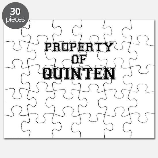 Property of QUINTEN Puzzle